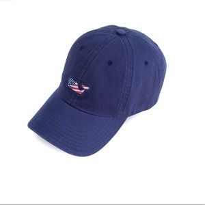 Vineyard Vines Whale Flag Baseball Hat